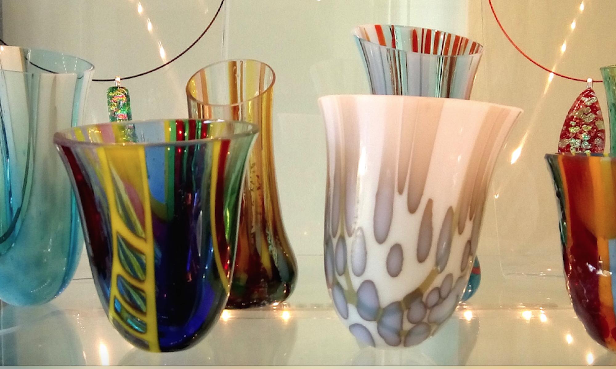 Caroline Moiret, Glass artist