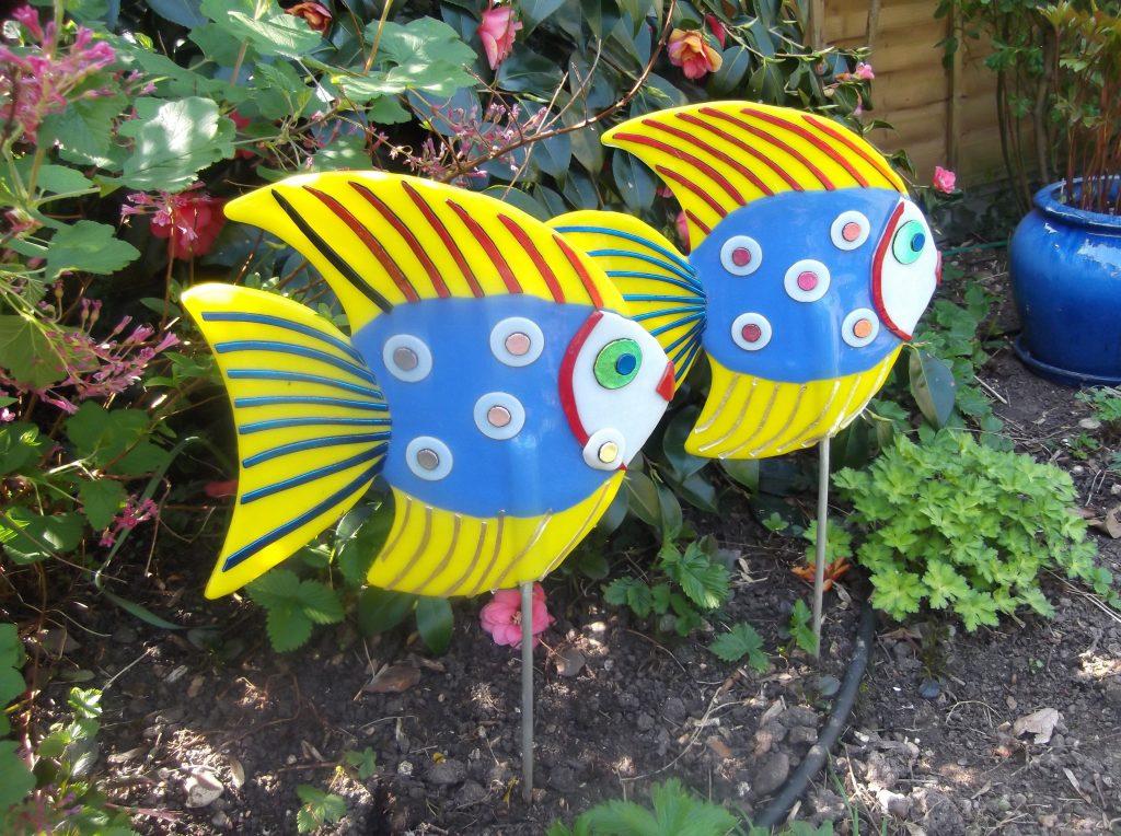 Pair of tropical fish